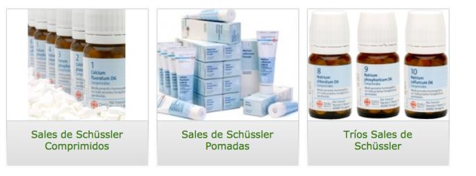 Sales de Schüssler